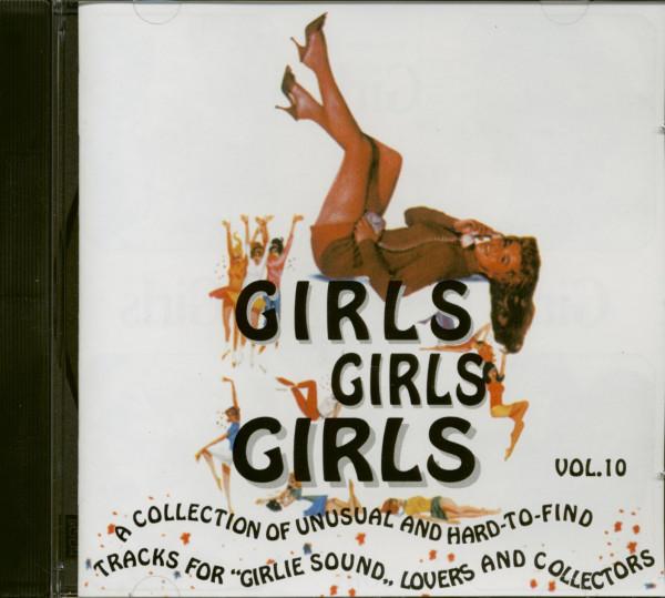 Girls, Girls, Girls Vol.10 (CD)