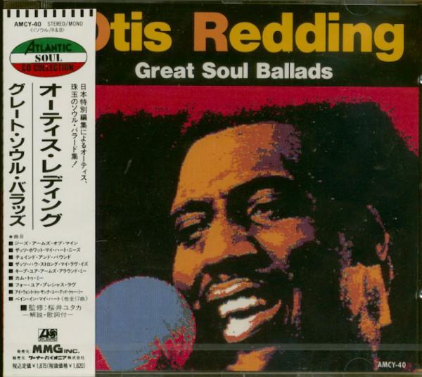 Great Soul Ballads (CD, Japan)