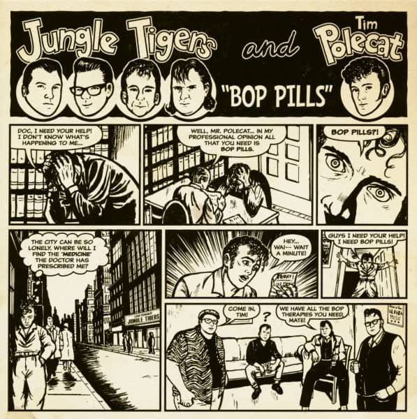 Bop Pills (7inch, EP, 33rpm, PS)
