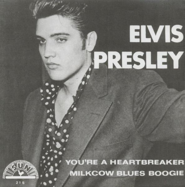 You're A Heartbreaker b-w Milkcow Blues Boogie - 7inch, 45rpm, PS - red vinyl