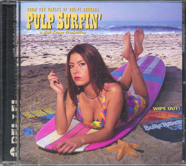 Pulp Surfin' - From The Vaults Of Del-Fi Records (CD)