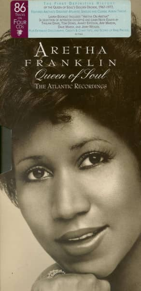 Queen Of Soul - The Atlantic Recordings (4-CD, Deluxe Box)
