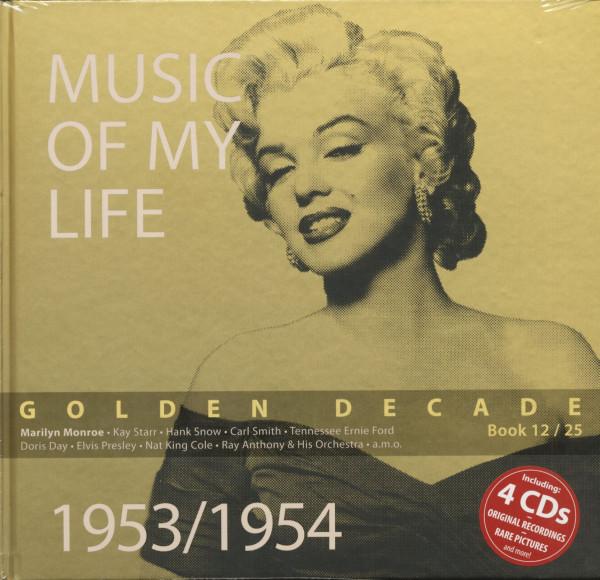 Golden Decade Vol.12 - 1953/1954 (Book & 4-CD)