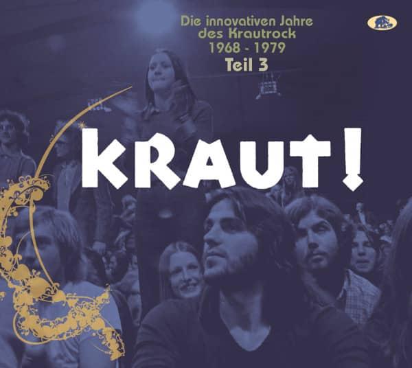 Teil 3 - KRAUT! - Die innovativen Jahre des Krautrock 1968-1979 (2-CD)
