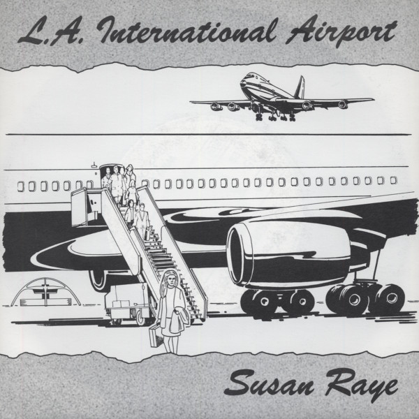 L.A. International Airport - Willy J. 7inch, 45rpm, PS