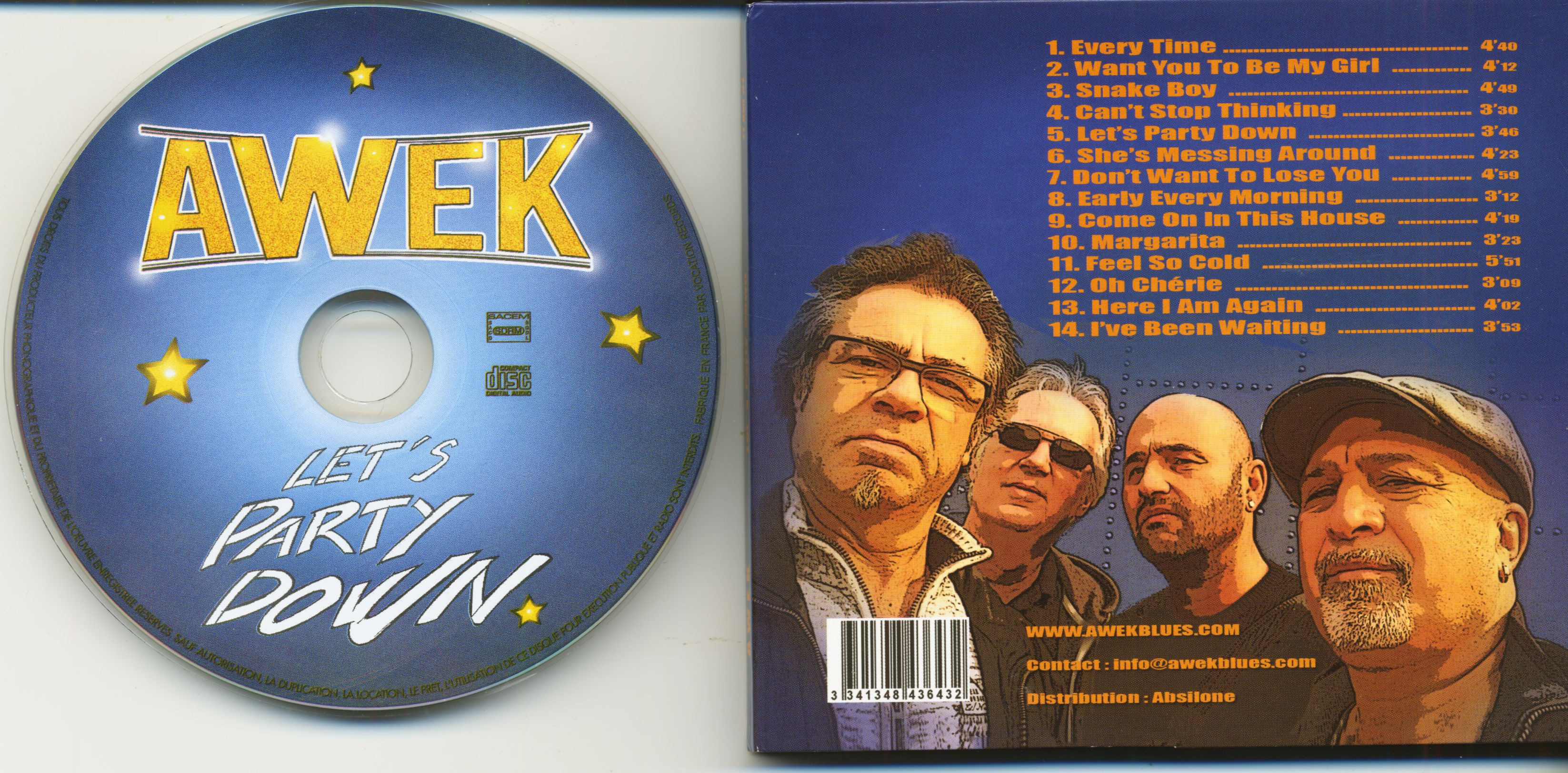 Awek Cd Let S Party Down 2 Cd Bear Family Records