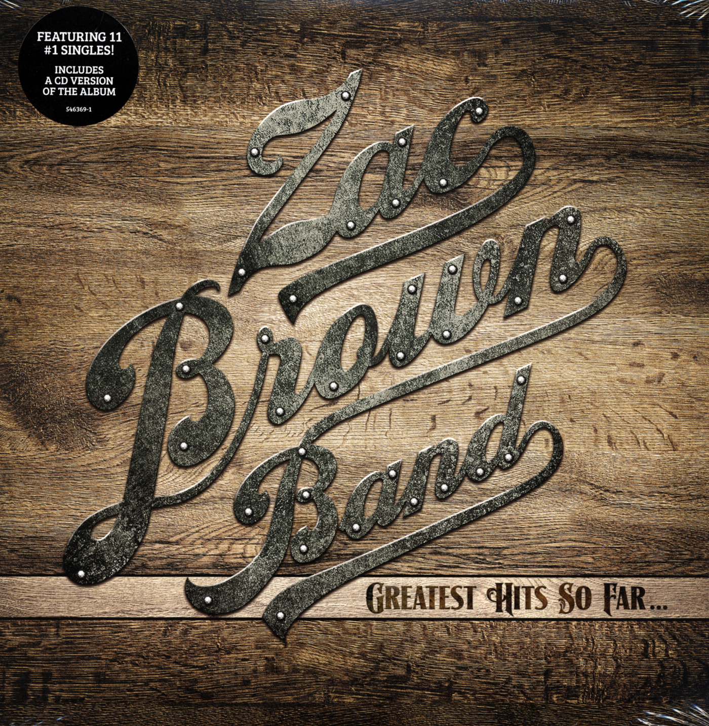 Zac Brown Band Lp Greatest Hits So Far 2 Lp Cd Album