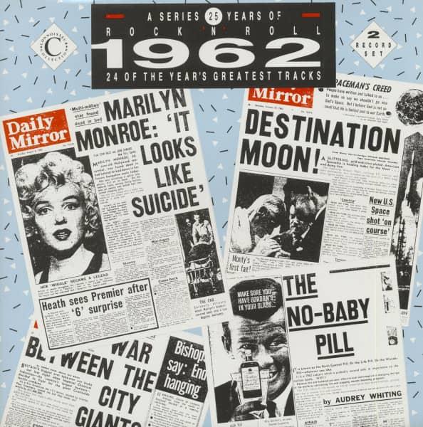 25 Years Of Rock 'N' Roll - 1962 (2-LP)