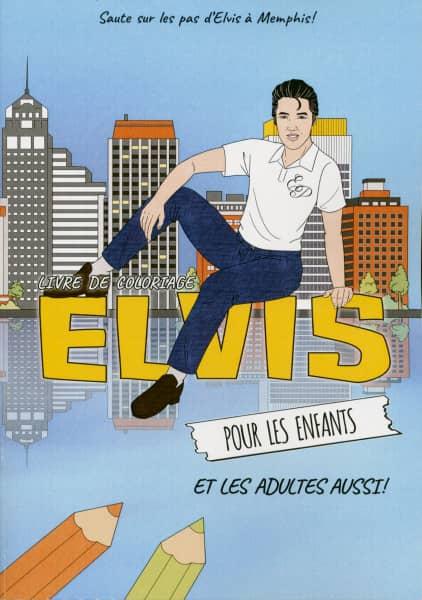 Livre De Coloriage Elvis Pour Les Enfants Et Les Adultes Aussi!