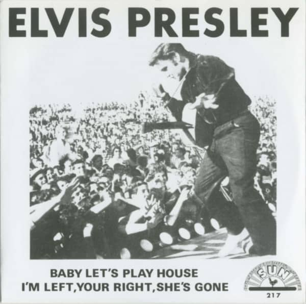 Baby Let's Play House - I'm Left, You're Right, She's Gone (7inch, 45rpm, PS)