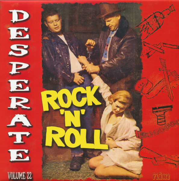 Desperate Rock'n'Roll Vol.22 (LP)