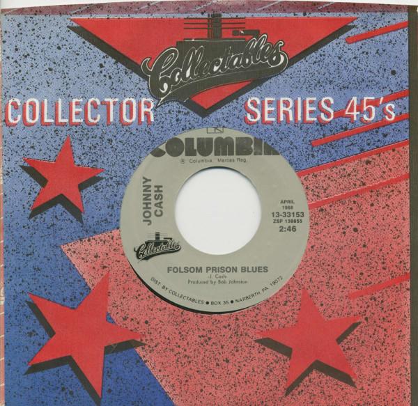 Folsom Prison Blues - Daddy Sang Bass (7inch, 45rpm, BC, CS)