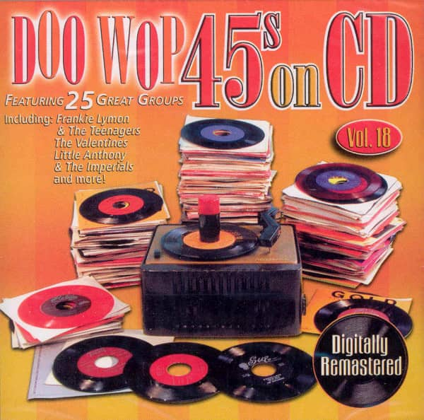 Vol.18, Doo Wop 45s On CD