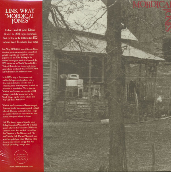 Mordicai Jones (LP, Ltd.)