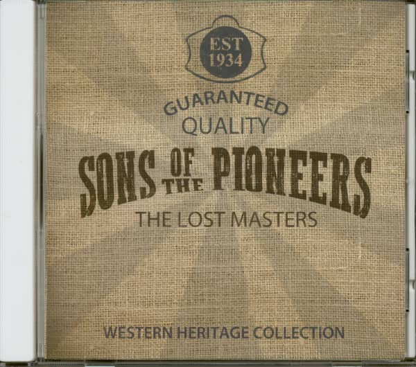 The Lost Masters (CD)
