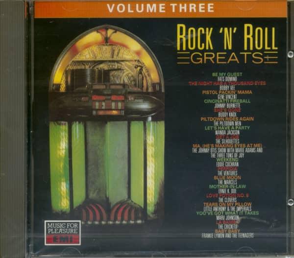 Rock & Roll Greats Vol.3 (CD)