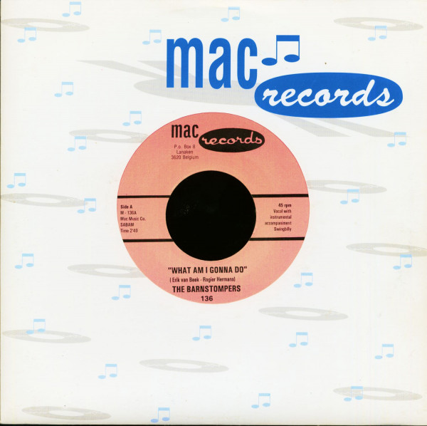 What Am I Gonna Do - Waitin' At The Station (7inch, 45rpm)