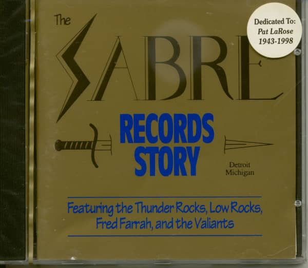 Sabre Records Story - Detroit, Michigan (CD)
