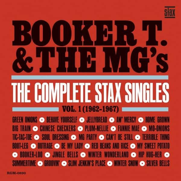 The Complete Stax Singles Vol.1 1962-1967 (2-LP, Blue Vinyl, Ltd.)