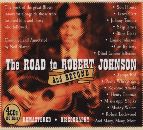 The Road To Robert Johnson (4-CD-Box)