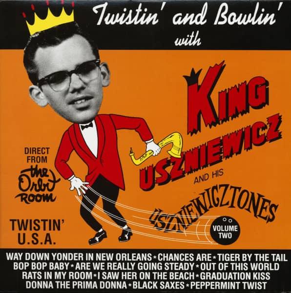 Twistin' And Bowlin' With King Uszniewicz & His Uszniewicztones (LP)