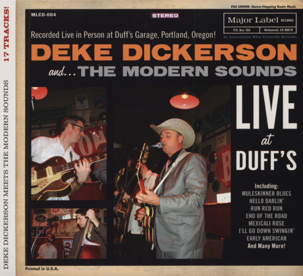 Live At Duff's - feat. The Modern Sounds