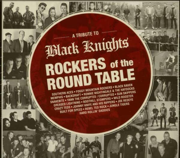 A Tribute To Black Knights - Rockers Of The Round Table (CD)