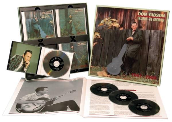 1960-66 Singer, Songwriter (4-CD)