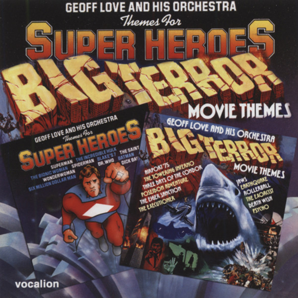 Themes For Super Heroes & Big Terror Movie Th