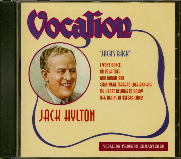 Jack's Back (CD)