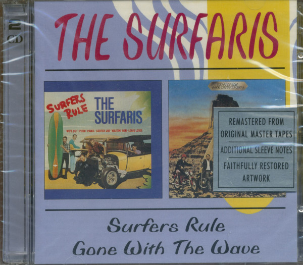 Surfers Rule & Gone With The Wave (2-CD)