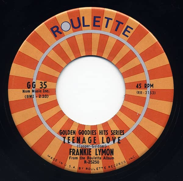 Teenage Love - I'm Not A Know It All 7inch, 45rpm