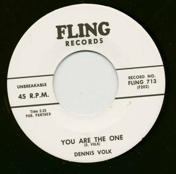 Dennis Boogie - You Are The One (7inch, 45rpm)