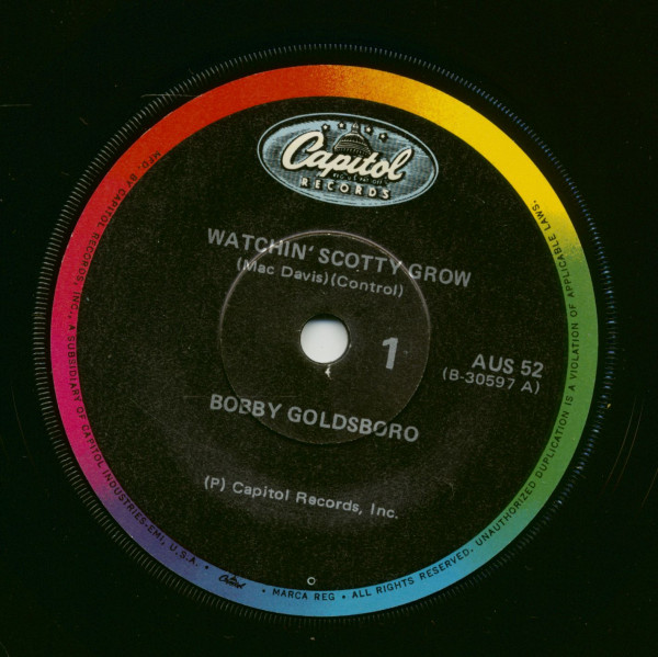 Watchin' Scotty Grow - Old Rivers (7inch, 45rpm, SC)