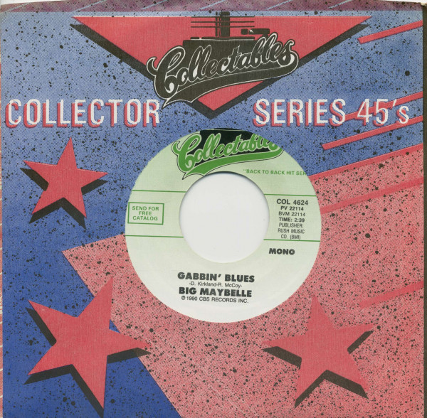 Ray Bryant Combo, The Madison Time - Big Maybelle, Gabbin' Blues (7inch, 45rpm, BC, CS)