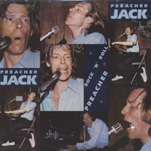 Rock 'N' Roll Preacher (LP, Cut-Out)