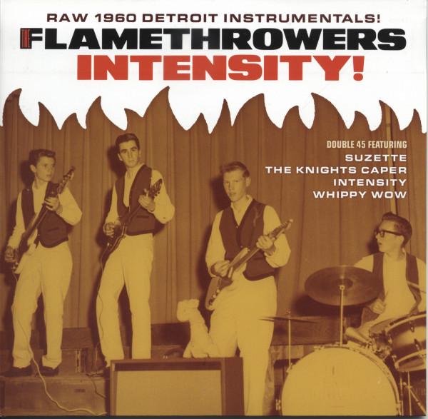 Intensity! Raw 1960s Detroit Instrumentals (2x7inch, 45rpm, PS)