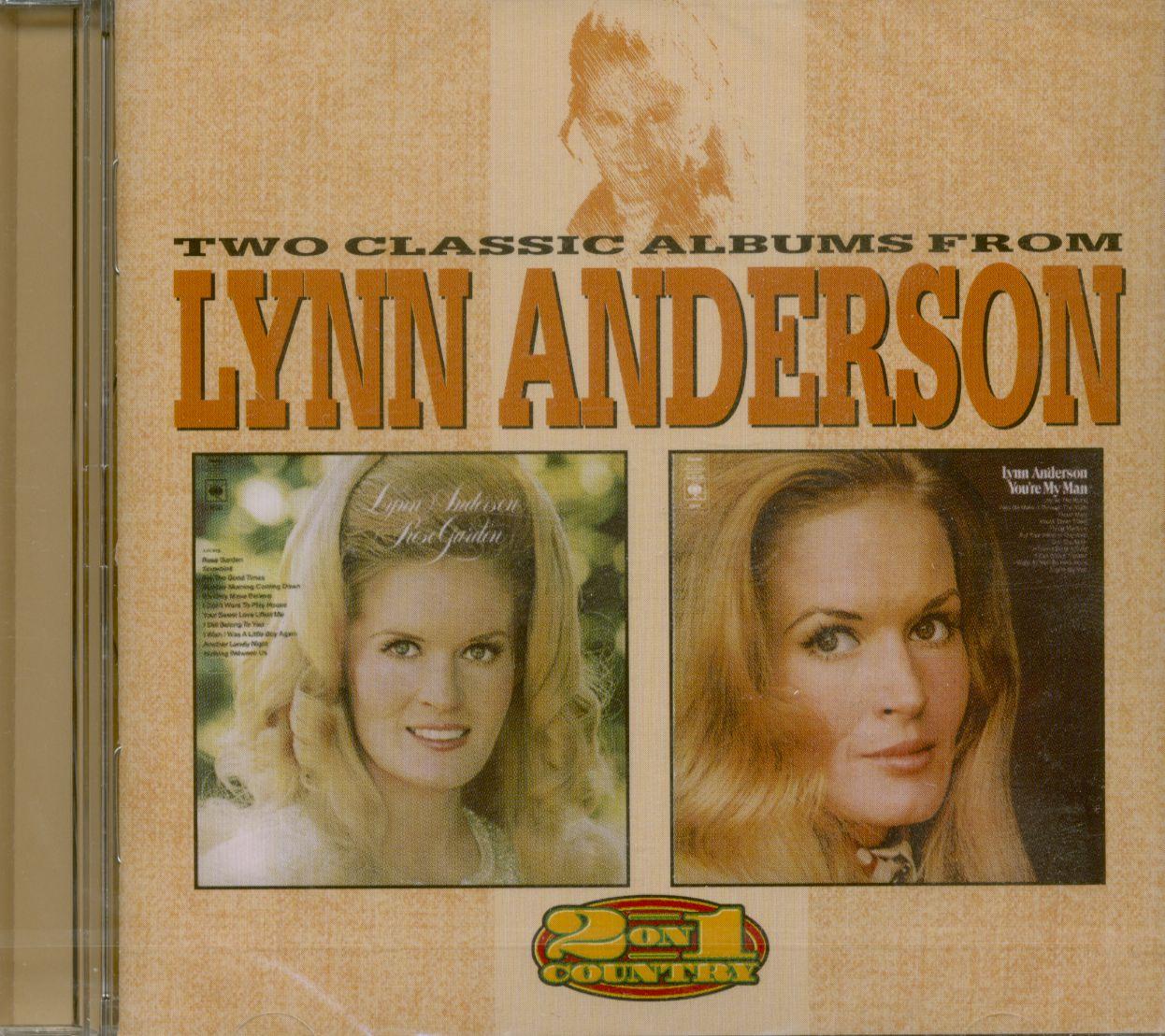 Lynn Anderson CD: Rose Garden - You\'re My Man (CD) - Bear Family Records