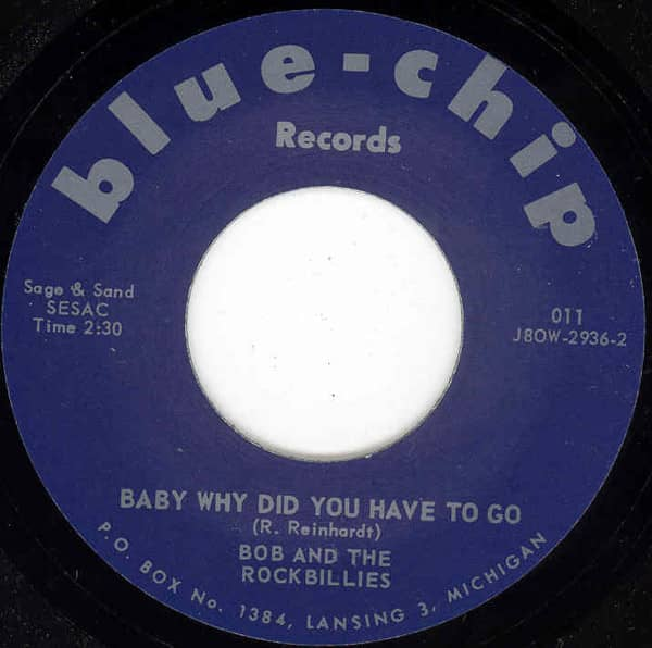 Baby Why Did You Have To Go b-w Your Kind Of Love 7inch, 45rpm