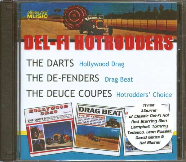 Del-Fi Hotrodders (2-CD)