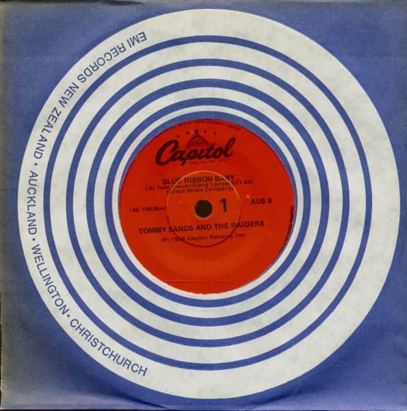 Blue Ribbon Baby - I Love You Because (7inch, 45rpm, SC, CS)