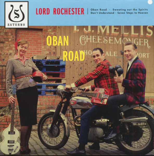 Oban Road (7inch, EP, 33rpm, PS)