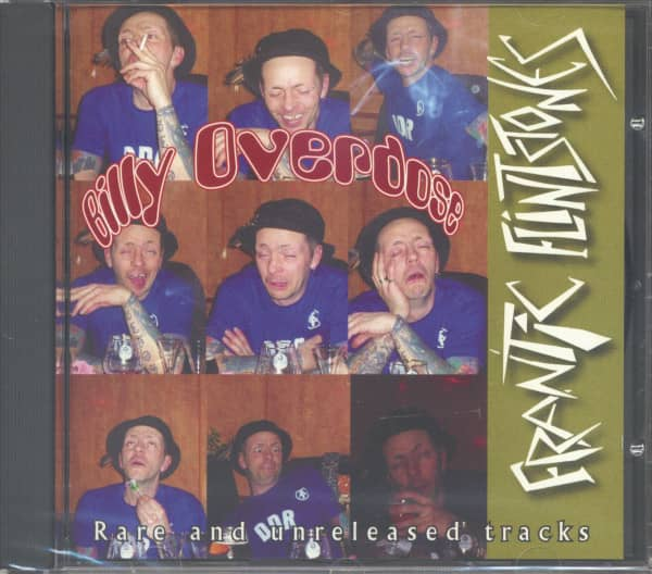 Billy Overdose - Rare And Unreleased Tracks (CD)