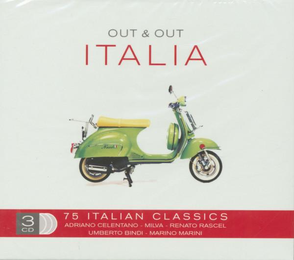 Out & Out Italia - 75 Italian (3-CDs)