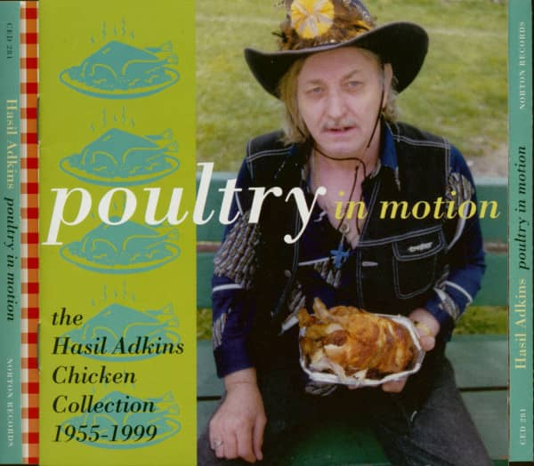 Poultry In Motion - The Hasil Adkins Chicken Collection 1955-99 (CD)