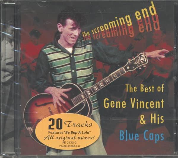 The Screaming End - The Best Of Gene Vincent &ampamp; His Blue Caps (CD)