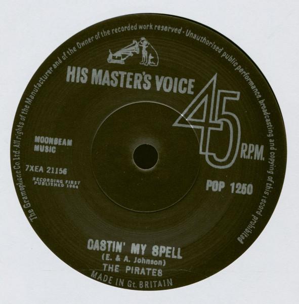Castin' My Spell - My Babe (7inch, 45rpm, SC)