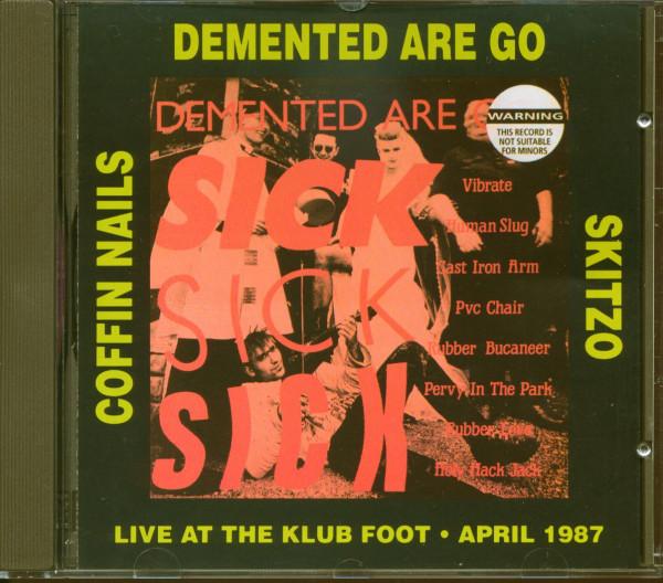 Sick, Sick, Sick - Live At The Klub Foot, April 1987 (CD)