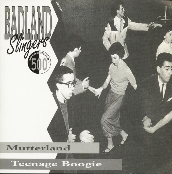 Mutterland - Teenage Boogie (7inch, 45rpm, Blue Vinyl, PS, Ltd.)