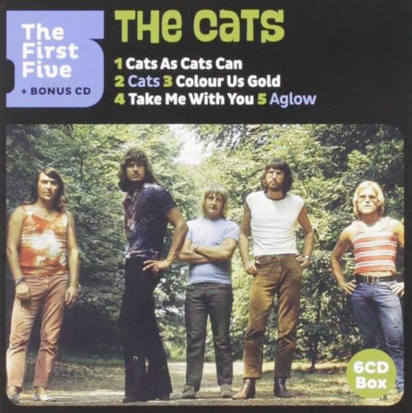 First Five Studio Albums (6-CD)